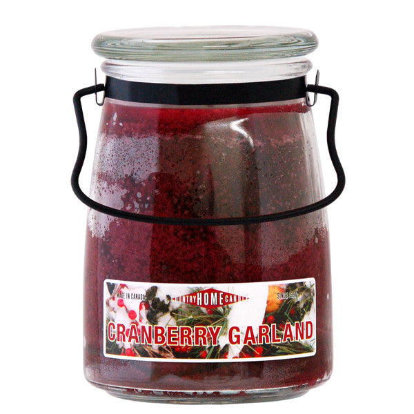 Cranberry Garland 22 oz Handle