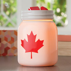 Candle Warmers Illumination - O'Canada Mason Jar