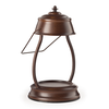 Candle Warmers Hurricane Lantern - Rustic Brown