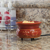 Candle Warmers 2-in-1 Melter Dish - Red Rock
