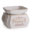 Candle Warmers 2-in-1 Melter Dish - Faith Family Friends