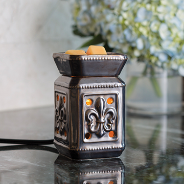 Candle Warmers Midsize Illumination - Fleur De Lis