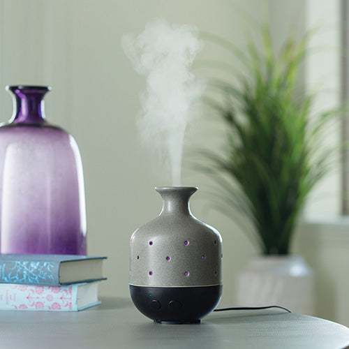 Candle Warmers Airome Diffuser (Large) - Gray Stone