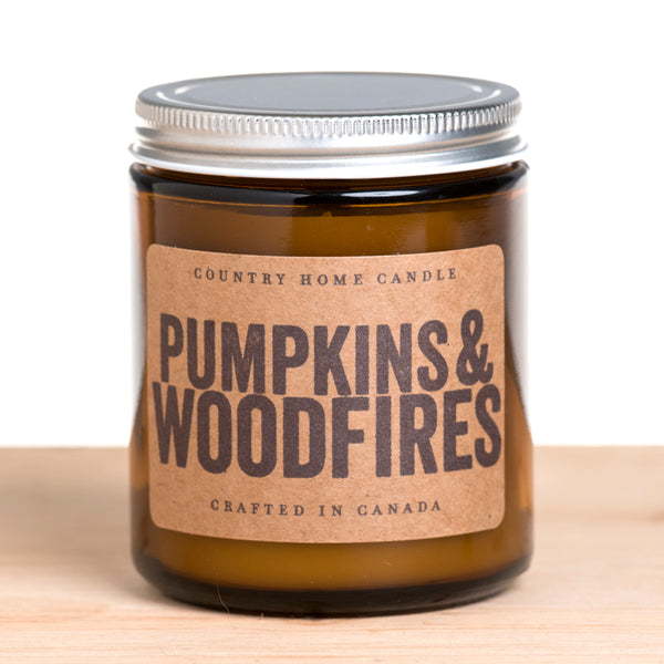 Pumpkins & Woodfires 7 oz