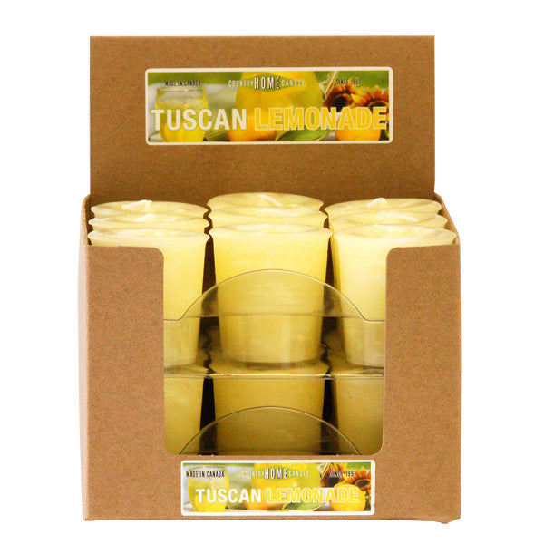 Tuscan Lemonade Votive Box