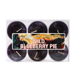 Wild Blueberry Pie Tealights