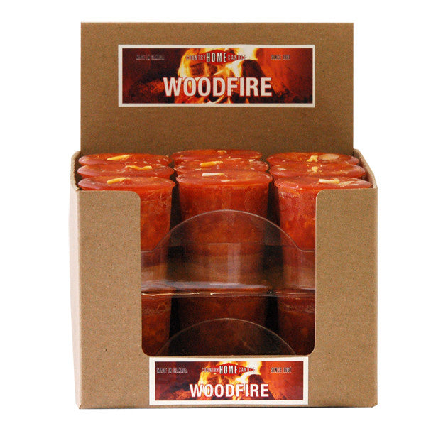 Woodfire Votive Box