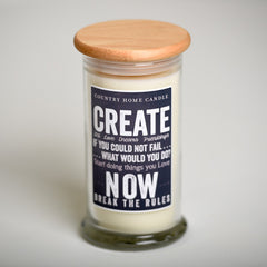 Create - Inspired Life Candle