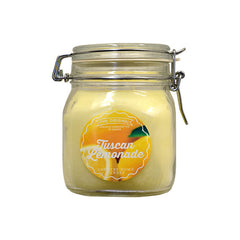 Tuscan Lemonade Original Jar 2 wick Candle Country Home Candle