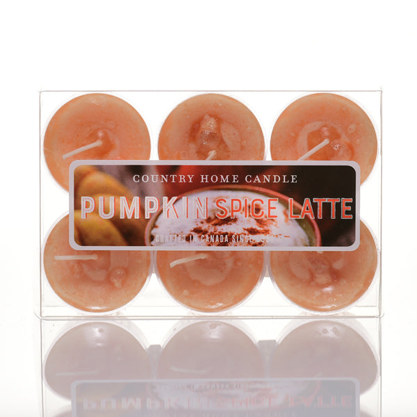Pumpkin Spice Latte Tealights