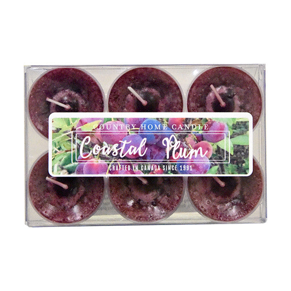Coastal Plum Tealights