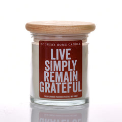 Live Simply Remain Grateful