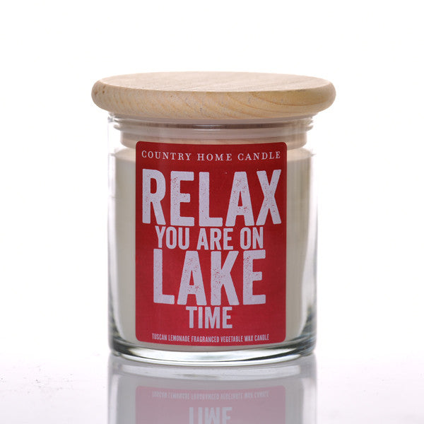 Relax you are on Lake Time