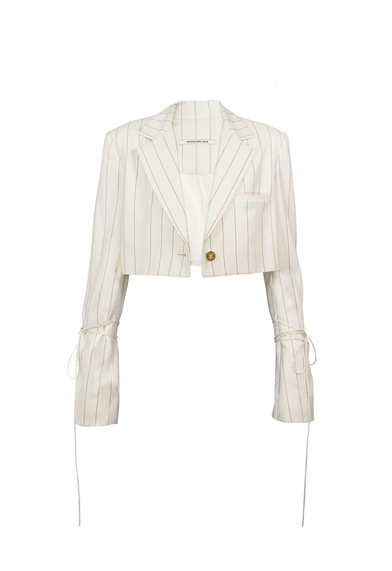 BOX BLAZER WOOL CREAM