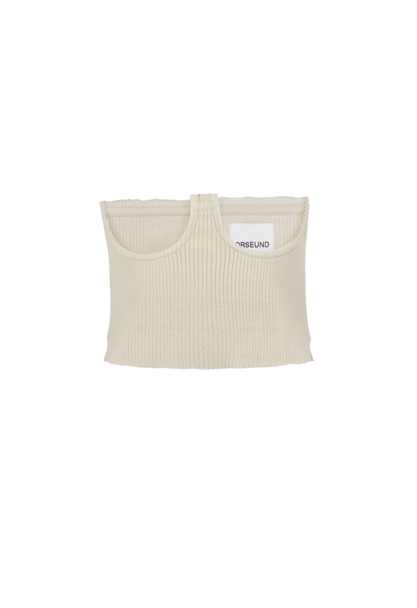 KNIT CORSET OFF-WHITE