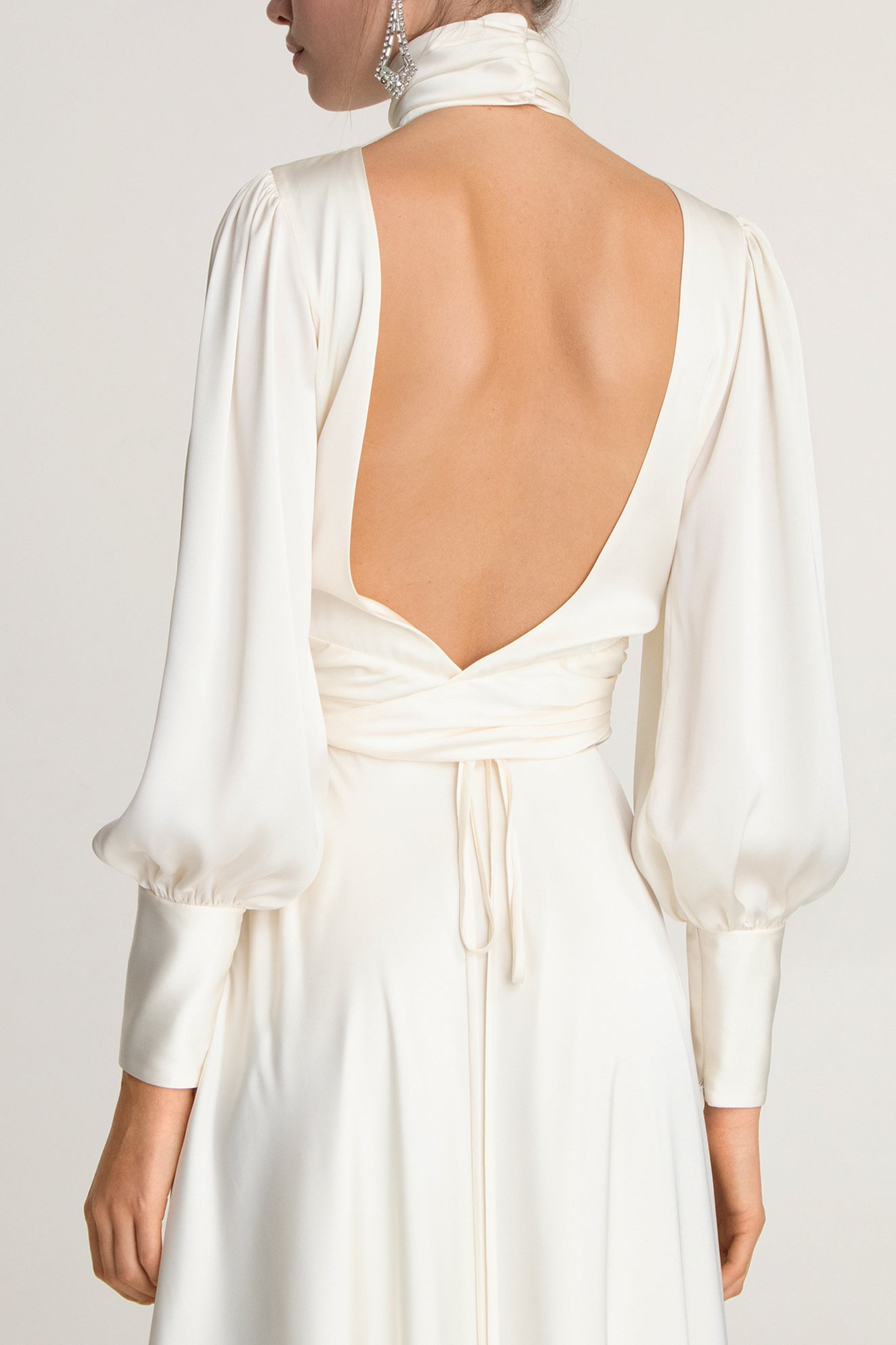 NIGHT OUT MAXI DRESS IVORY