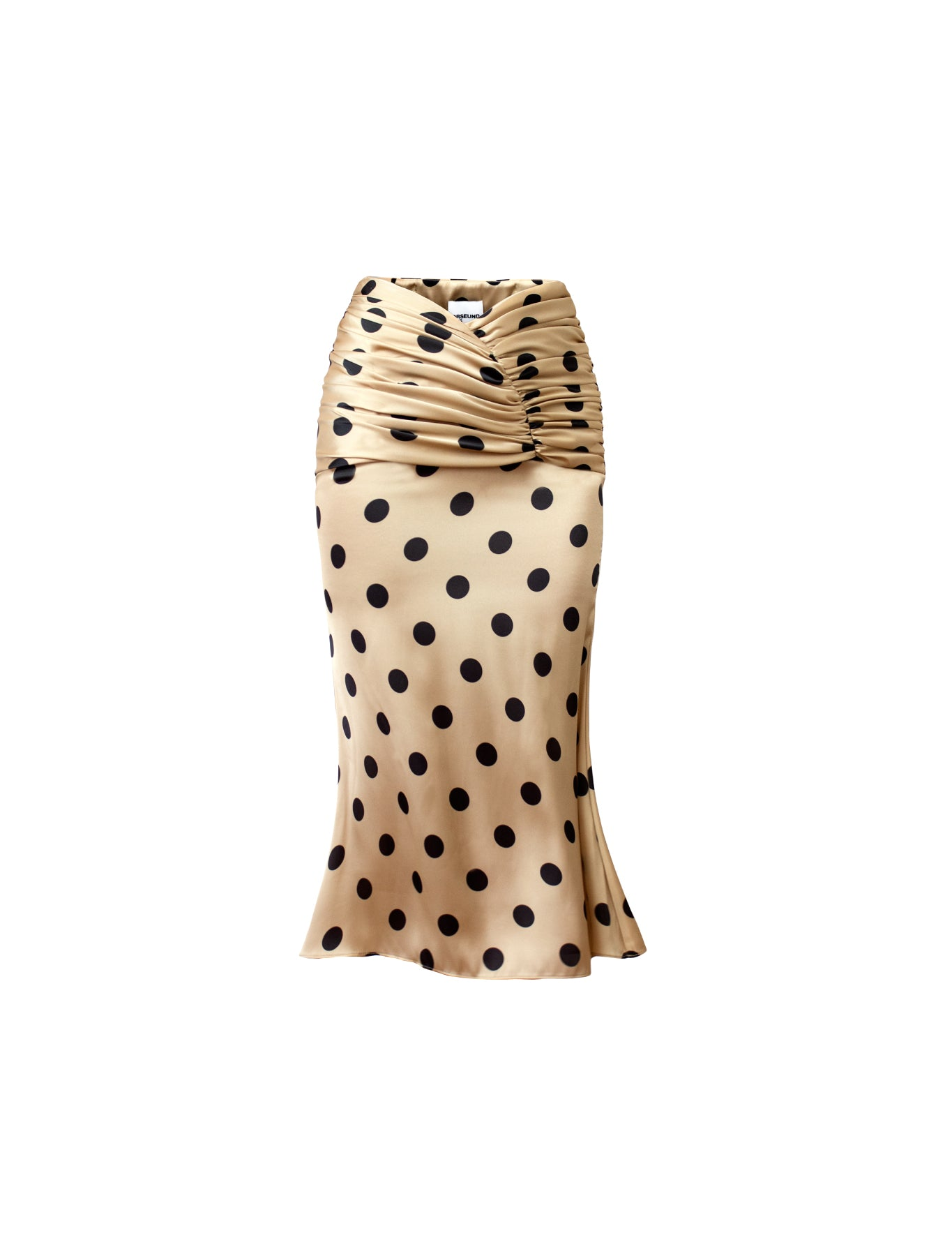 EXCLUSIVE ROMANTIQUE SKIRT POLKA DOT CAMEL/BLACK