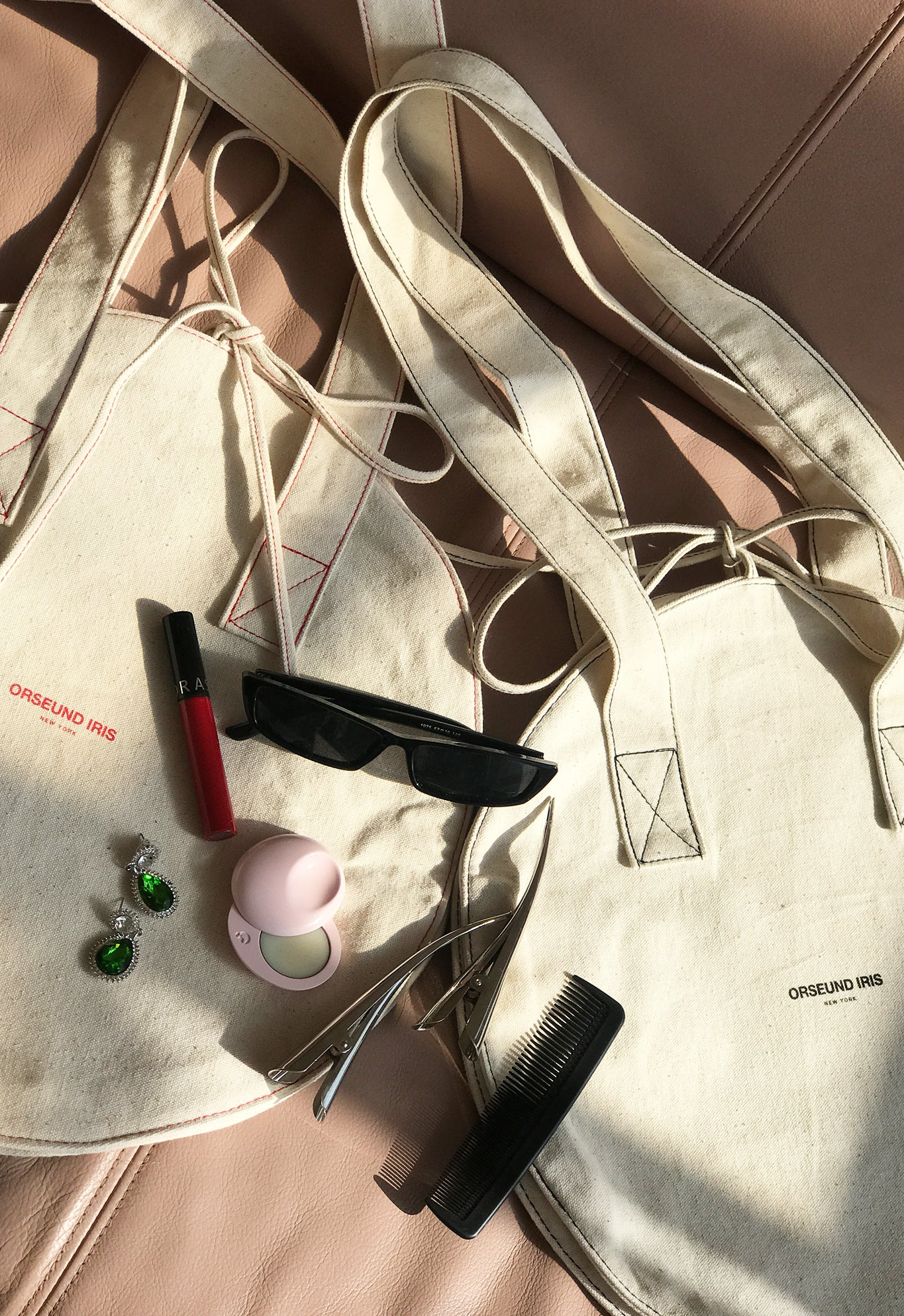 CANVAS CIRCLE TOTE