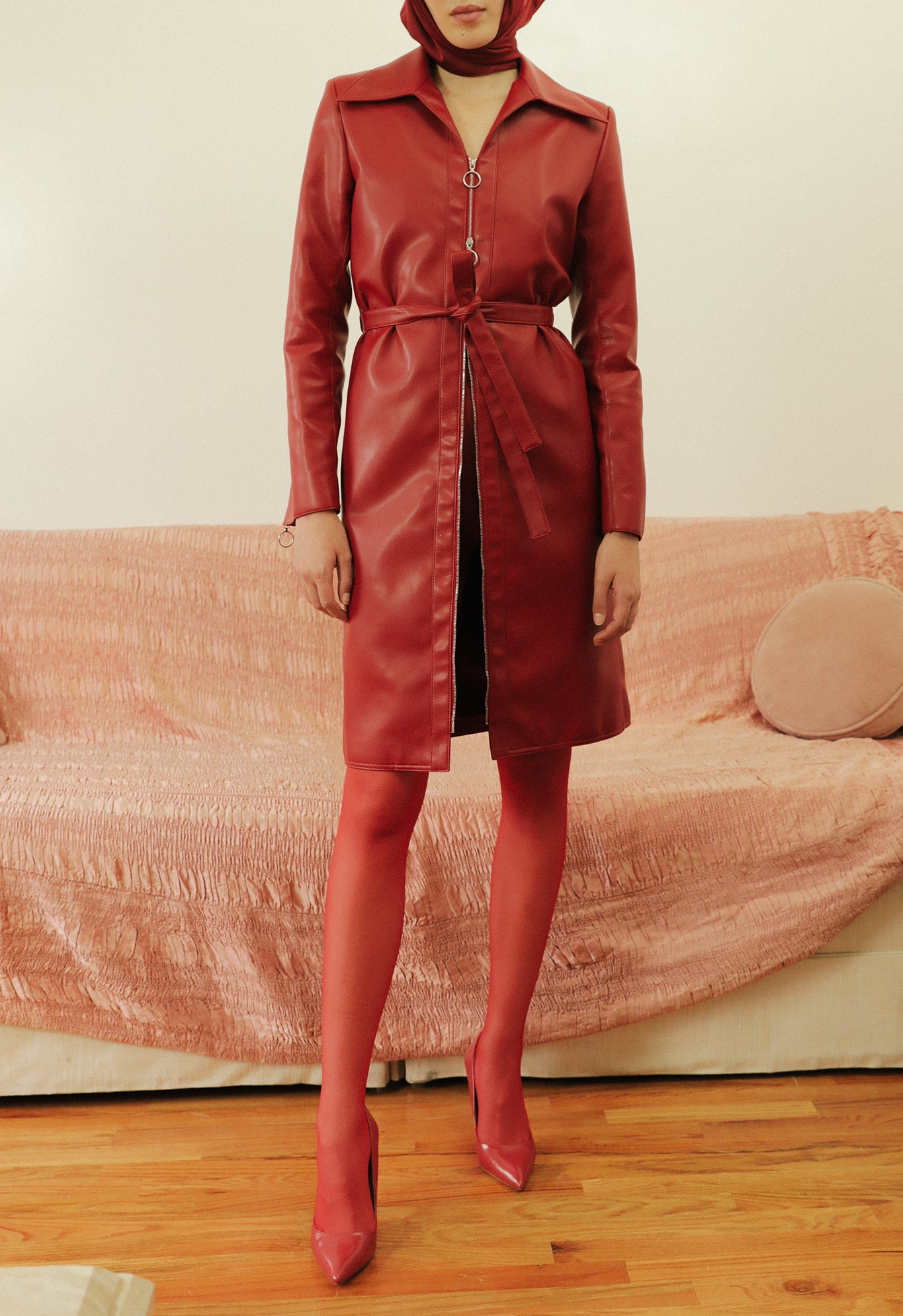 TRENCH RED