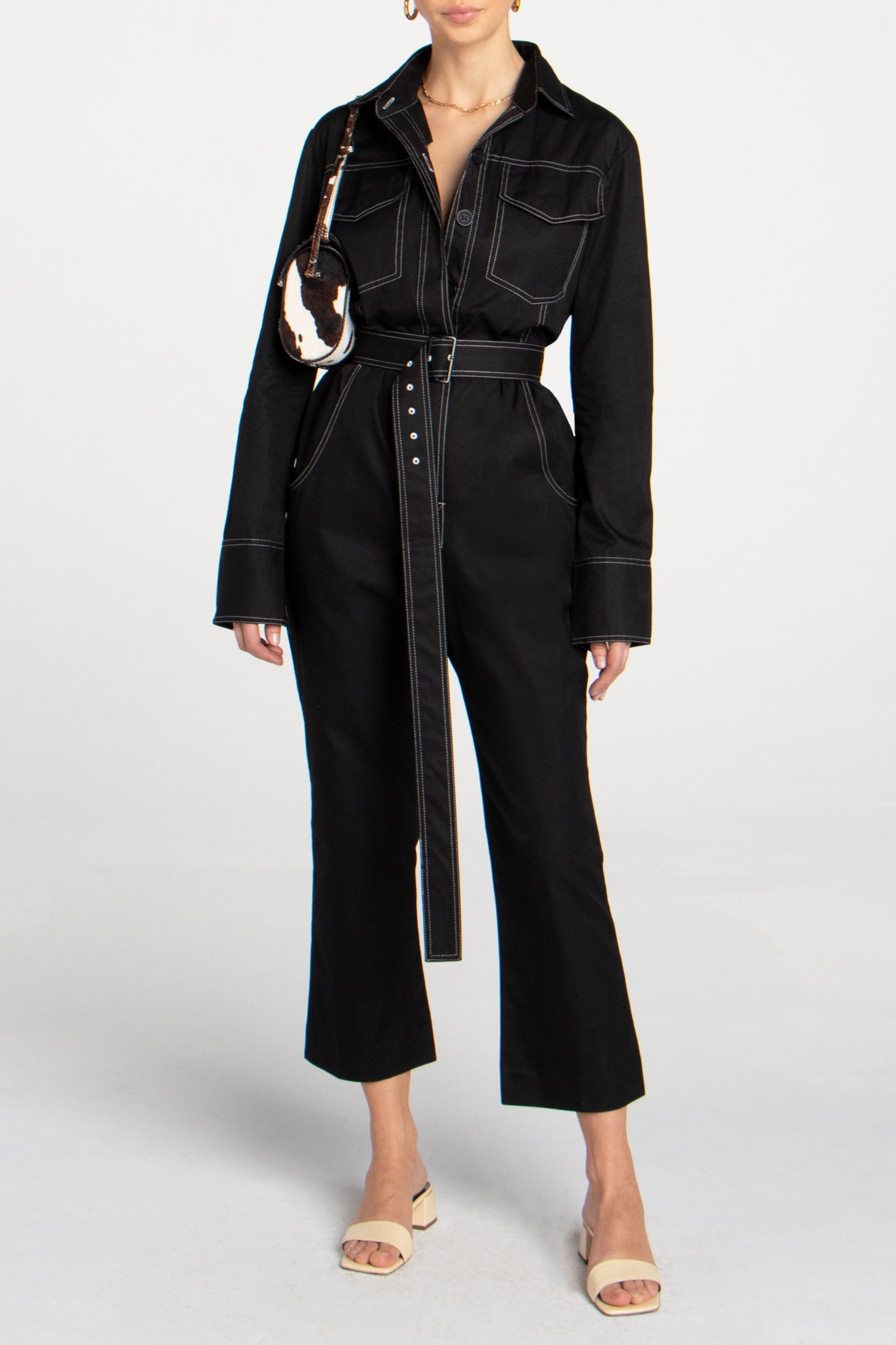 WORKWEAR JUMPSUIT BLACK