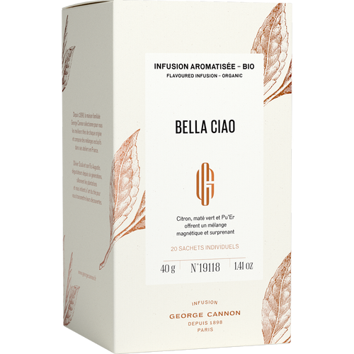 Bella Ciao Infusion Aromatisée Bio