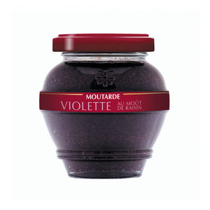 Moutarde Violette au Moût de Raisin