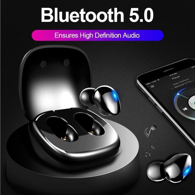 ASX8 ALWUP i9 TWS Bluetooth 5.0 Earphone Wireless Headphones for phone True Wireless Stereo Mini Earbuds sports With Mic Charging box