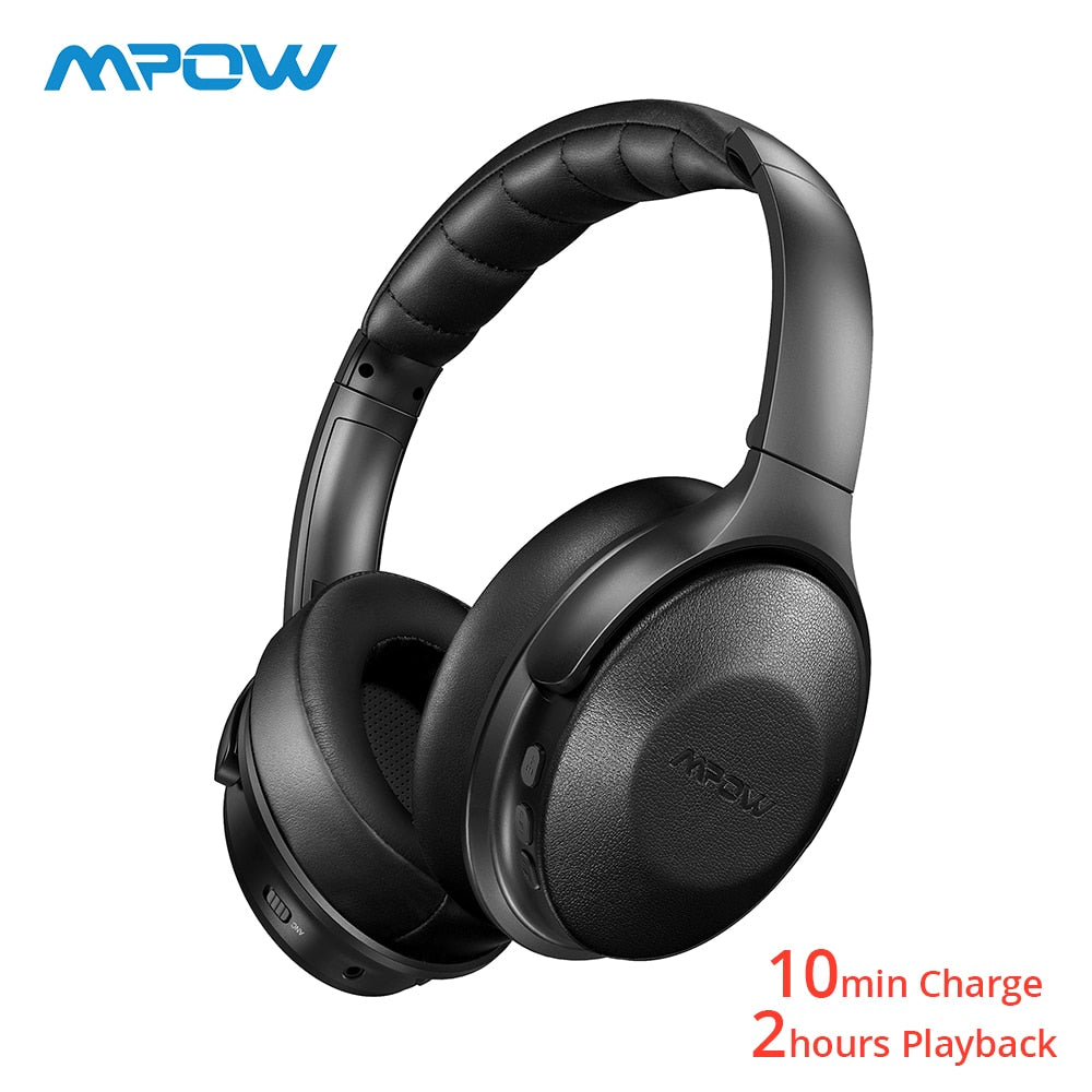 Mpow H17 Wireless Headphones Bluetooth 4.1 ANC Headset With Fast Charging Hi-Fi Stereo Sound For iPhoen Xiaomi Huawei Smartphone