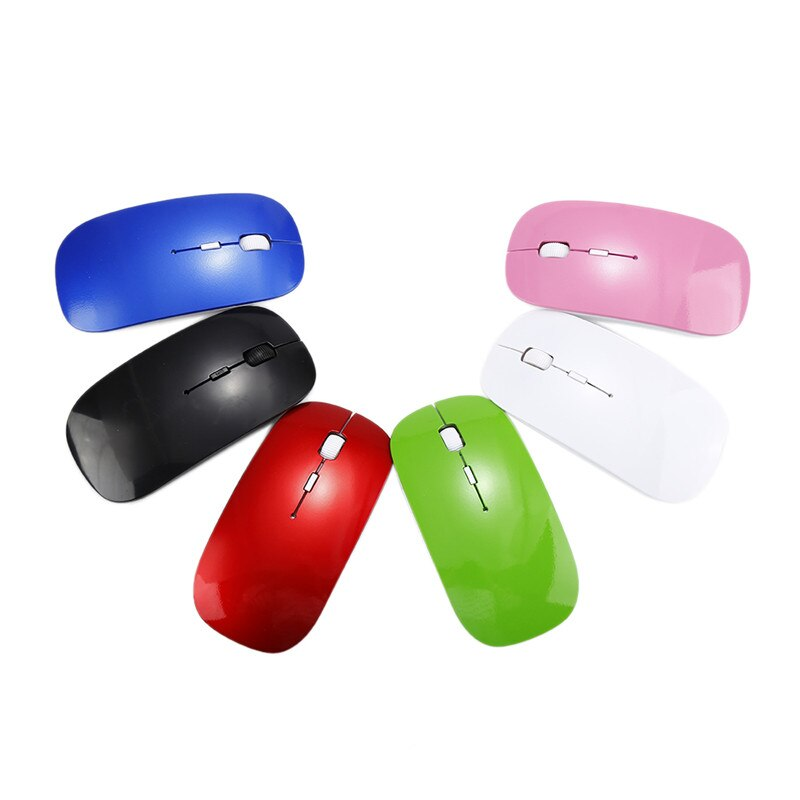 Wireless Mouse Silent Computer Mouse PC Mause Portable Ergonomic Mouse 2.4Ghz USB Optical Mice For Laptop PC Computer Gamer