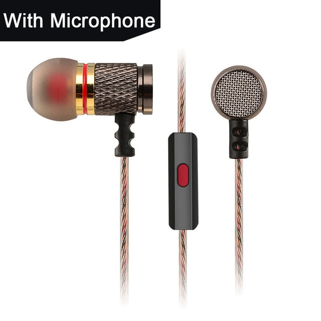 Original KZ EDR1/ED2 HIFI Earphone Heavy Bass Earbud In-Ear Music HD Earphone for Smart Phone One Plus for Xiaomi Samsung iPhone