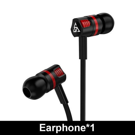 Musttrue Professional Earphone Super Bass Headset with Microphone Stereo Earbuds for Mobile Phone Samsung Xiaomi  fone de ouvido