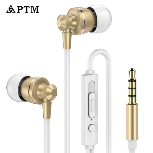 ASXB2 Earphone PTM Noise Canceling Headphone HD HiFi Headset Super Bass Stereo Earbuds for Mobile phone for Iphone xiaomi