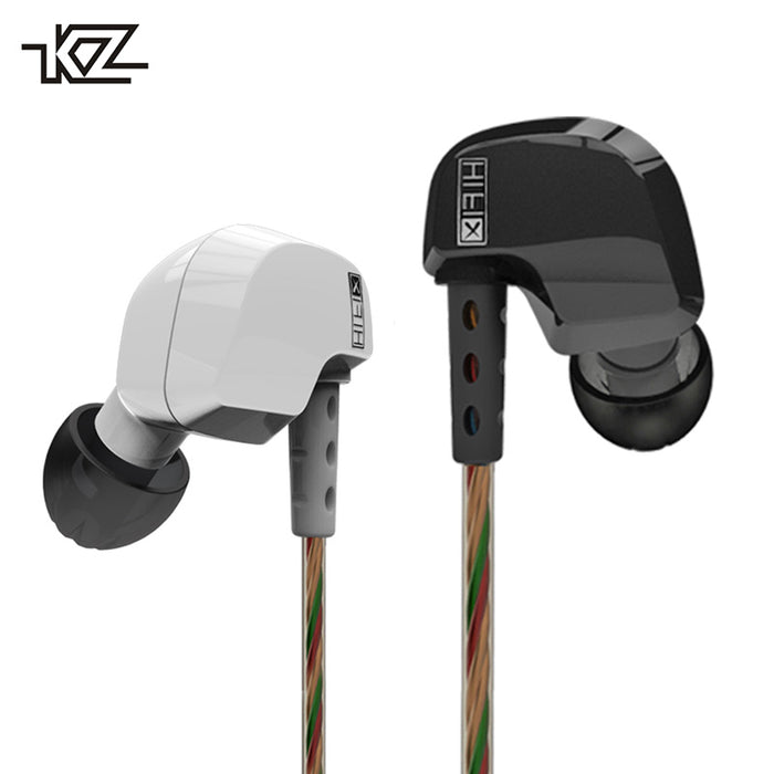 KZ HD9 Earphones HiFi Sport Earbuds Copper Driver 3D Heavy Bass Earhook Headphones With Microphone