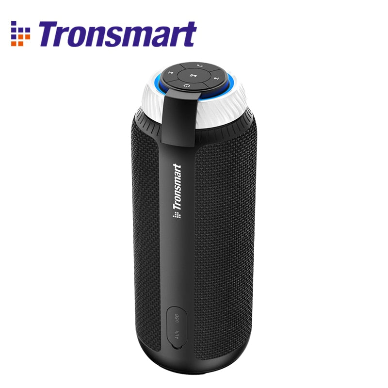 Tronsmart Element T6 Bluetooth Speaker Column Portable Speaker Subwoofer 25W with 360 Stereo Sound Speakers for computer