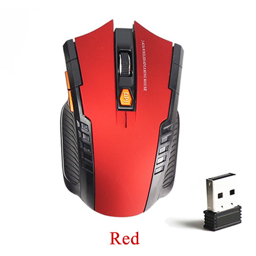 SOVAWIN Mini Wireless Mouse Portable Ergonomics Optical Gaming Mouse 2000 DPI USB 2.4G Computer Mause For Laptop PC Game Mice