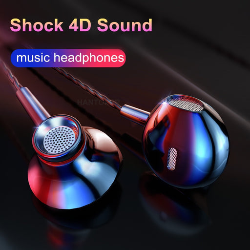 ASXB8 In-ear Earphone Earbuds Stereo Sport Headphone Noise Isolating Headset with Mic for iphone Xiaomi Samsung Mobile phone Universal