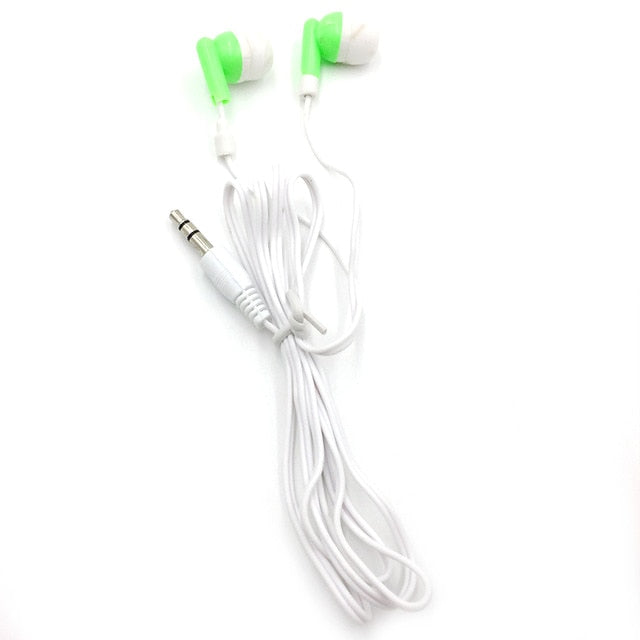 Wired In-ear Earphone Earbuds Stereo for Sport Noise Isolating Headset for iphone  Mobile phone Universal