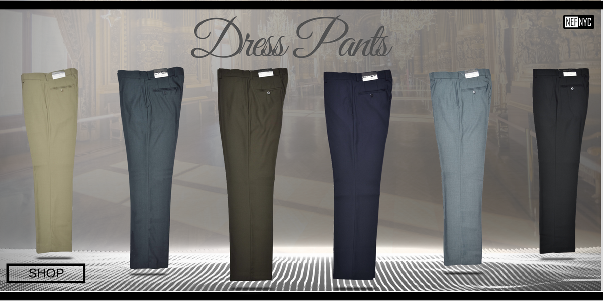 Dress Pants - Shop - NEFNYC.com