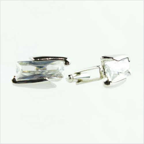 Uziel Crystal Cuff Links - New Edition Fashion