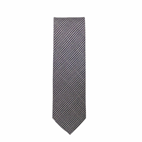 Bronko Slim Checkered Tie