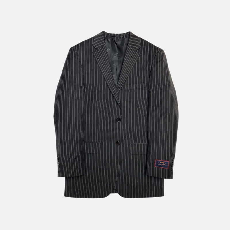 2-Piece Pinstriped Suit