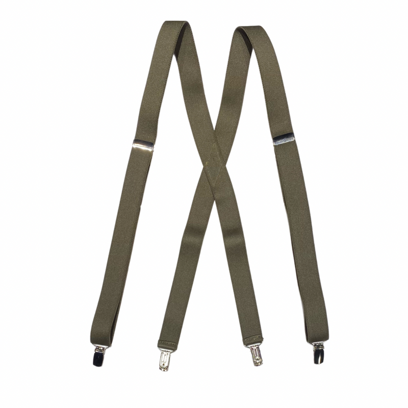 Adjustable Clip-On Suspenders