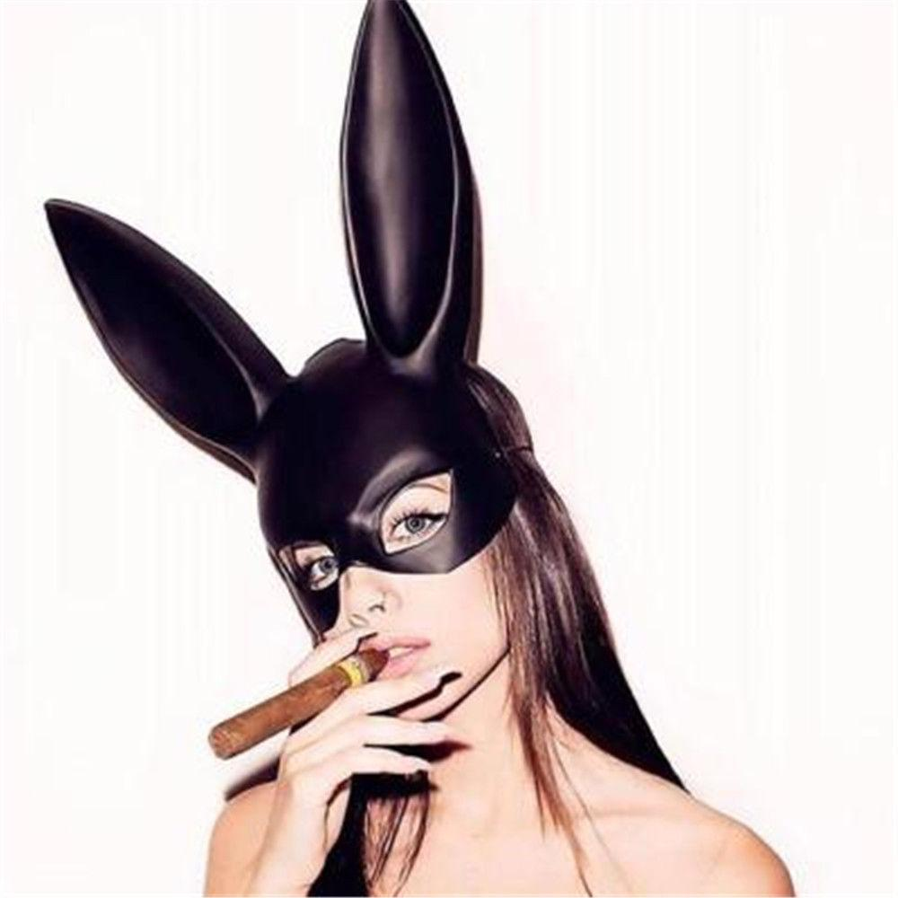Women Halloween Sexy Bunny Mask For Party, Nightclub  Vegas Central Goods-2445