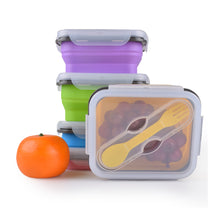 Load image into Gallery viewer, Collapsible Lunch Box 1 Compartment