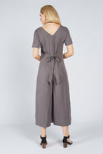 Load image into Gallery viewer, Tie Jumpsuit Grey