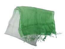 Load image into Gallery viewer, Gradient Scarf Green with Tassel