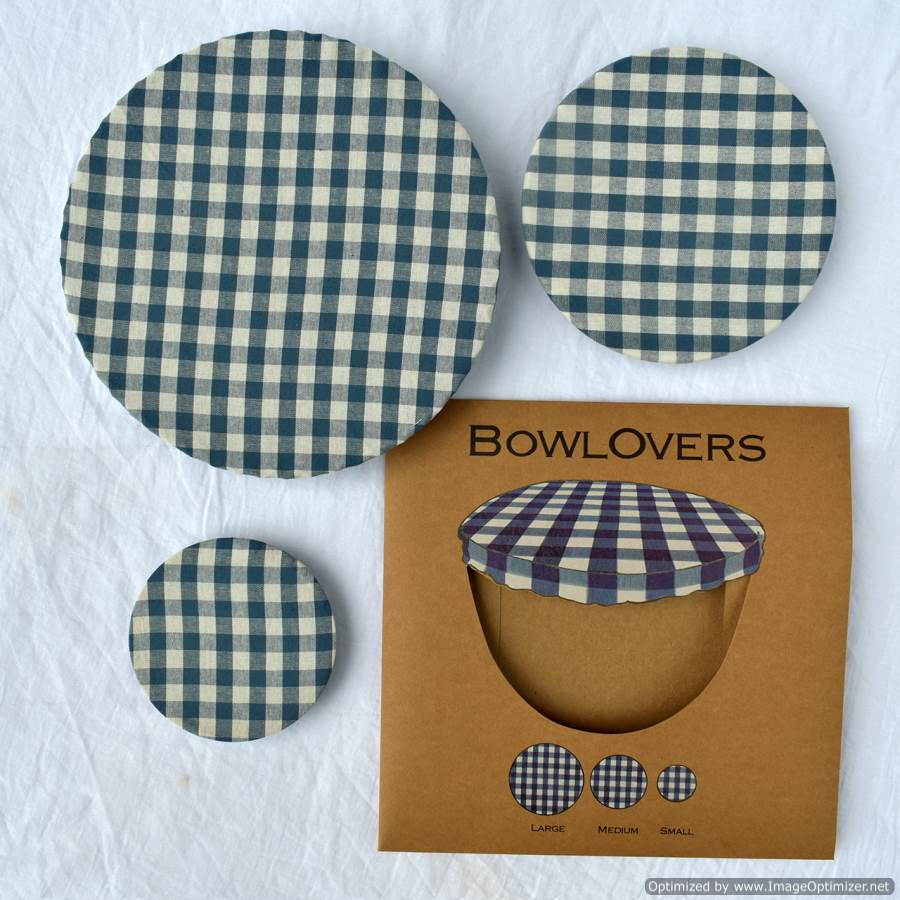 Bowl Covers Cotton Bowl Cover Checkered Design