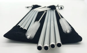 Stainless Steel Straw Family Set