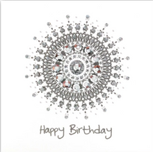 Load image into Gallery viewer, Silver Happy Birthday Theme Card Pack H02