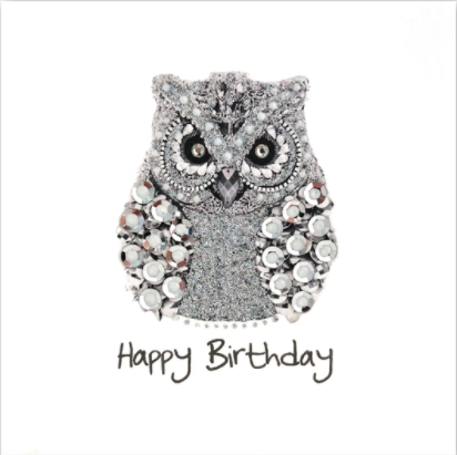 Silver Happy Birthday Theme Card Pack H02